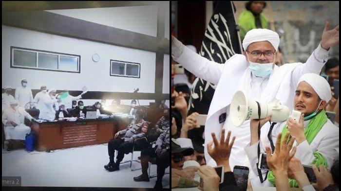 Habib Rizieq Baca Pledoi Singgung 8 Tokoh Dinilai Penjahat Prokes, Ada Habib Luthfi hingga Jokowi