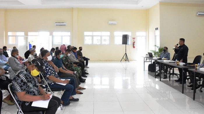 Wakil Ketua DPRD Kaltim Sigit Wibowo dalam Sosialisasi Perda Nomor 5 Tahun 2019 tentang Penyelenggaraan Bantuan Hukum yang digelar, Sabtu (27/3/2021) ruang serba guna Graha Indah, Balikpapan.