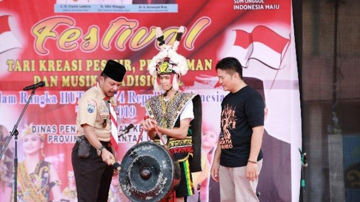 Buka Festival Tari Musik Tradisional Kaltara, Sigit Berharap Bisa Dikenalkan Keluar Daerah