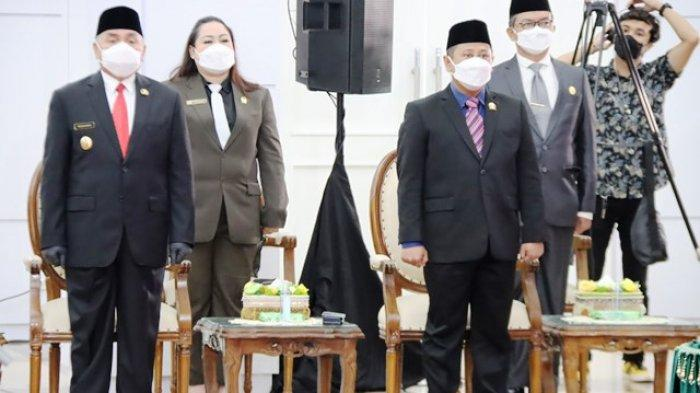 Hadiri Pelantikan Enam Kepala Daerah, Sigit Wibowo Ingatkan Masyarakat Ingin Perbaikan Positif