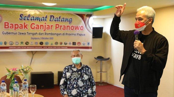 Senangnya Masyarakat Jawa-Madura di Papua Jumpa Ganjar Pranowo, 'Kita Merasa Diperhatikan'