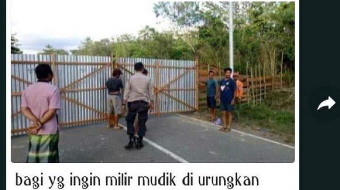 Jalan Daerah Siluq Ngurai Kubar Ditutup, Ini Kabar Hoaks di Kutai Barat