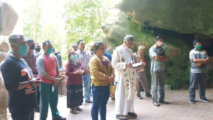 Rehabilitasi Gua Maria di Kutai Timur Telah Selesai, Masyarakat Dapat Beribadah Lebih Nyaman