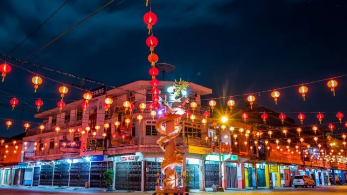 Puncak Perayaan Imlek, Ini Rute Pawai Lampion Cap Go Meh di Singkawang
