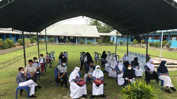 114 Pelajar SMPN 1 Penajam Dilarang Orangtuanya untuk Vaksinasi Covid-19