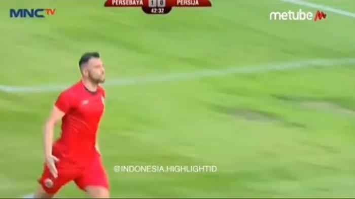 SKOR 1-1 Babak Pertama Persebaya vs Persija Final Piala Gubernur Jatim, Live Streaming RCTI+ MNC TV