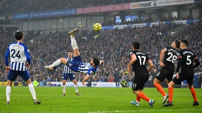 SKOR 1-1 Hasil Akhir Liga Inggris Brighton vs Chelsea, The Blues Dikejutkan Gol Salto Menit Akhir