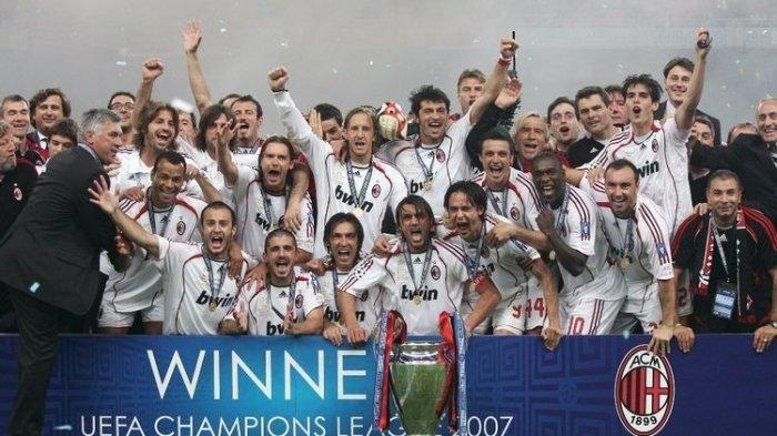 Statistik AC Milan vs Atletico Madrid, Liverpool dan FC Porto di Liga Champions, Peringatan Baresi