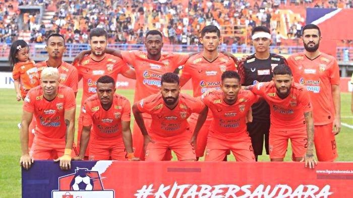 Hasil & Klasemen Liga 1 2020, Borneo FC Buntuti Persib Bandung, Persebaya Surabaya Melorot