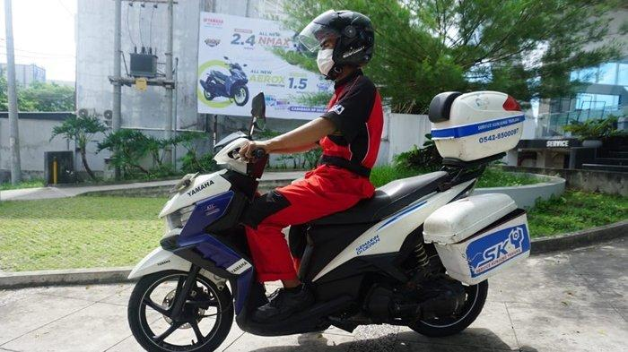 Jangan Panik PPKM Darurat, Motor Bermasalah Ada 'SKY' Service Kunjung Yamaha