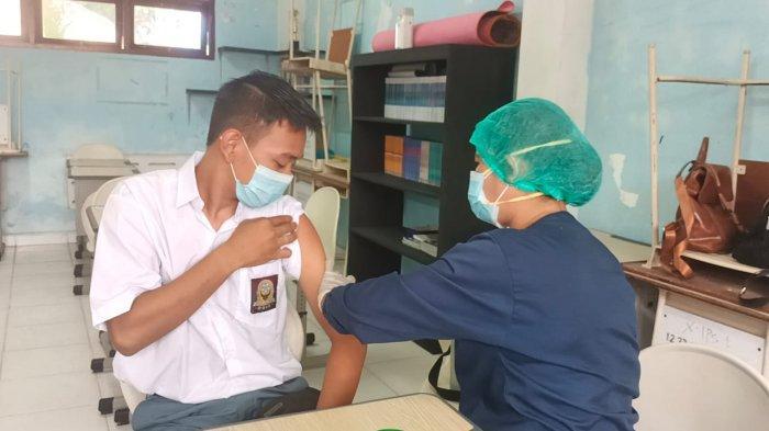 Cegah Penularan di Lingkungan Keluarga, Vaksinasi Covid-19 Sasar Pelajar Tarakan