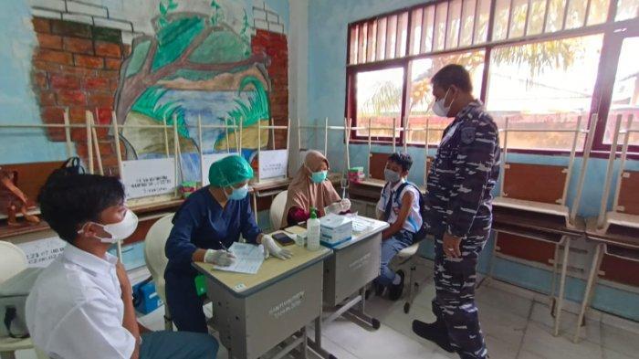 Vaksinasi Covid-19 di Tarakan, Danlantamal XIII Beber Jenis Vaksin Apa pun Aman Digunakan