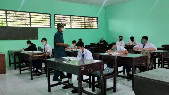4 Sekolah di Bontang Gelar PTM Terbatas Mulai Hari Ini, Murid Dibatasi 15 Orang dan Belajar 3 Jam