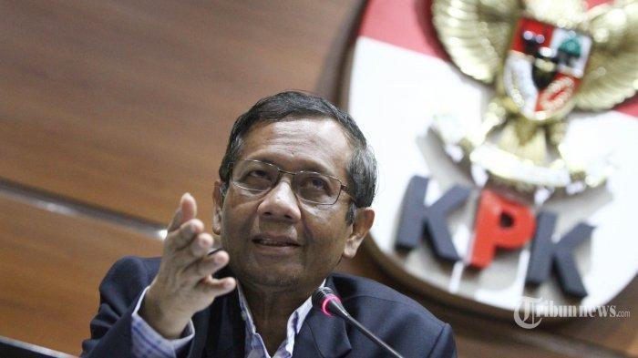Presiden Joko Widodo Tak akan Terbitkan Perppu KPK, Mahfud MD Justru Skak ICW, Begini Responnya