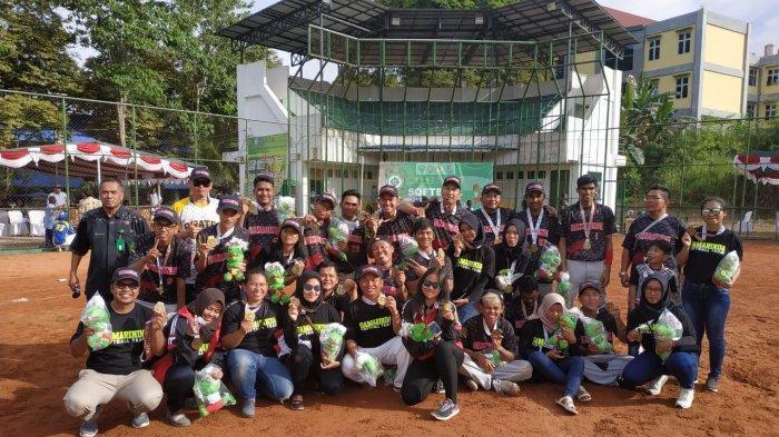 Samarinda Sukses Kawinkan Gelar  Softball