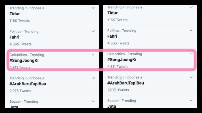 Song Joong Ki jadi trending topic