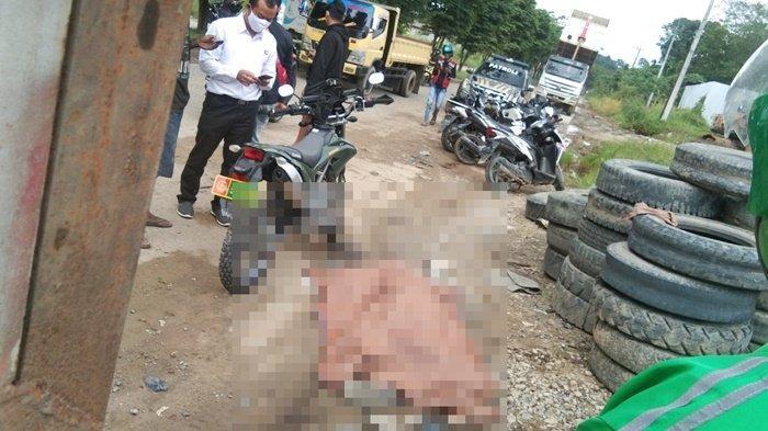 Saat akan Mengganti Ban, Sopir Truk Fuso di Jalan Ring Road Samarinda Ditemukan tak Bernyawa
