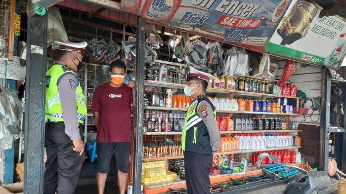 Satlantas Polres Kubar Sosialisasi Larangan Penggunaan Knalpot Brong, Ada Sanksi Bagi Pelanggar