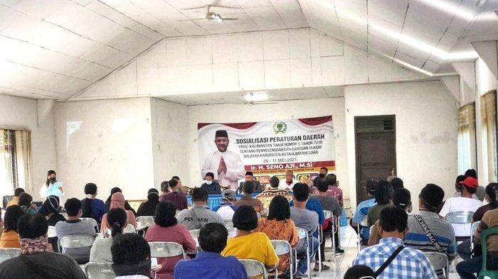 Seno Aji Sosialisasi Perda Pajak Daerah, Masyarakat Minta Bapenda Lakukan Terobosan soal Jatuh Tempo