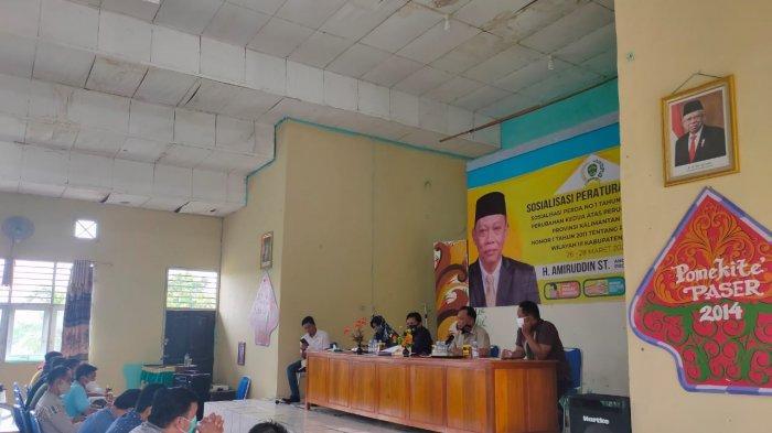 Anggota DPRD Kaltim Amiruddin Ingatkan Masyarakat Paser Taat Pajak