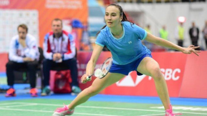 Sosok Anastasiia Shapovalova Lawan Gregoria di Piala Sudirman 2021, Pemain Muda Rusia Masih 19 Tahun