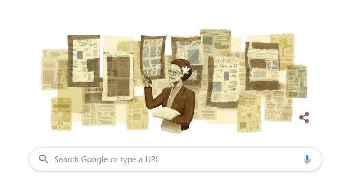 Wartawati Senior yang Wajahnya Muncul di Laman Google Doodle Hari Ini, Kenali Sosok Ani Idrus