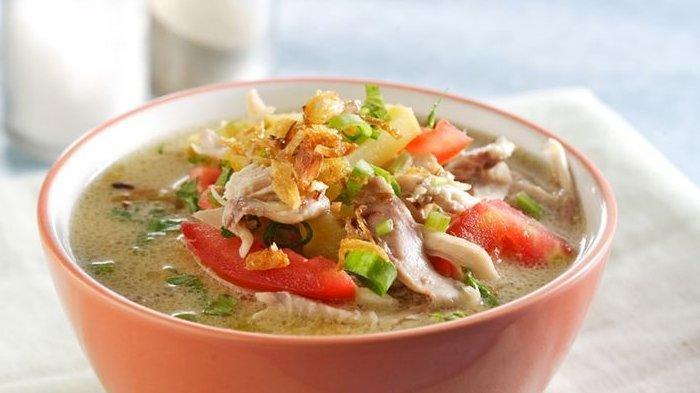 Cara Bikin Soto Ayam Santan Enak, Hidangan Berkuah Santan Cocok untuk Menu Makan Malam