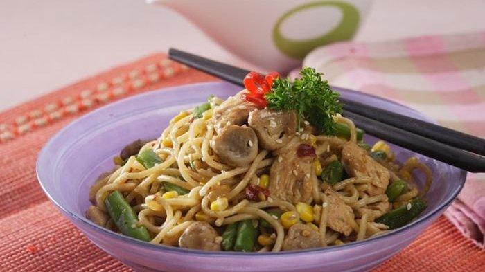 Resep Spageti Ayam Oriental Enak, Menu Sarapan Istimewa untuk si Kecil