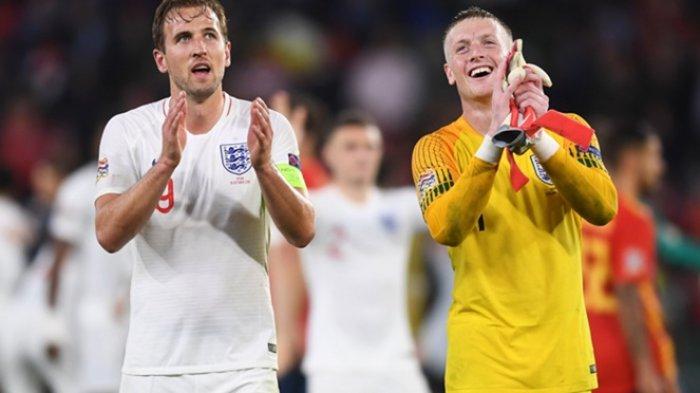 Spanyol Vs Inggris - Spanyol Kalah 2-3, Kekalahan Pertama Tim Matador di Kandang sejak 15 Tahun