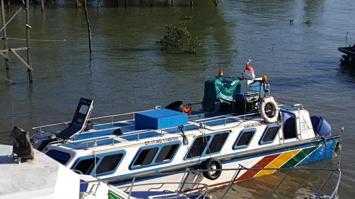Speedboat Tarakan-Malinau Nyaris Tenggelam di Perairan Tana Tidung Kalimantan Utara