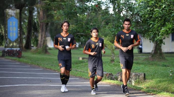 Semua Pemain PBFC Sukses Jalani Latihan Cross Country