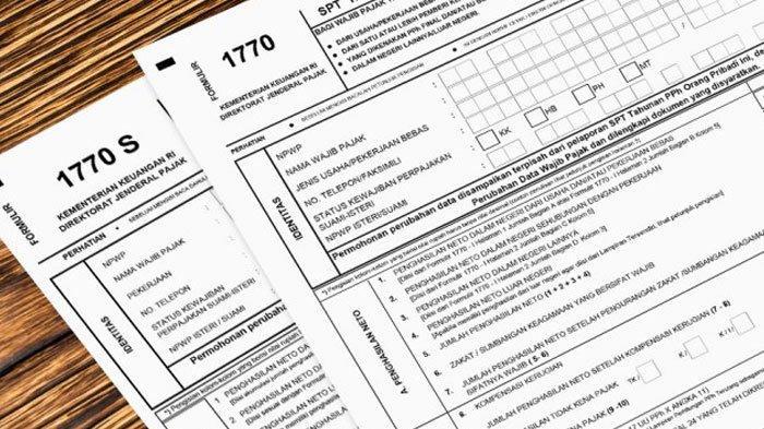 Lapor Spt Tahunan Online 2020 Di Djponline Pajak Go Id Simak Cara Mengisi Tiga Jenis Formulir 1770 Tribun Kaltim