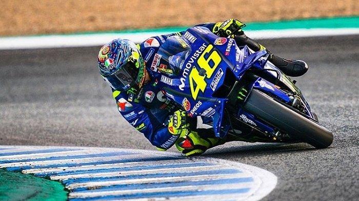 Kabar Buruk Valentino Rossi, Ikut Terdampak Virus Corona hingga Terancam Absen di MotoGP 2020
