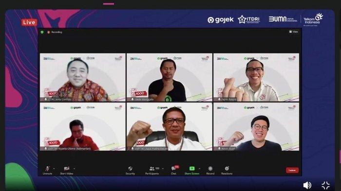 Perkuat Ekonomi Digital di Indonesia Timur, Gojek dan ITDRI Gagas Muda Maju Bersama 1.000 Startup