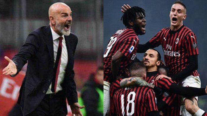 Geram dengan Performa AC Milan, Stefano Pioli Ungkap Kekecewaan Usai Dikalahkan Inter Milan 2-4