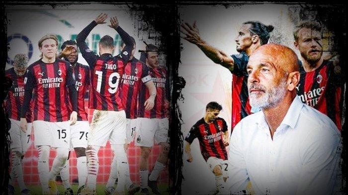 Update Liga Italia, Pioli Sadar Jelang Lawan Juventus, Ganti Formasi AC Milan, Ibra Punya Duet Baru