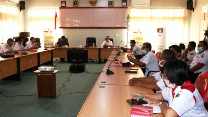Pemkab Rakor Bahas Percepatan Pembanguna Ujoh Bilang, Ibu Kota Kabupaten Mahulu