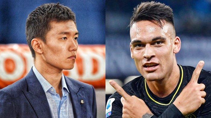Reaksi Keras Presiden Inter Milan Steven Zhang Soal Kabar Lautaro Martinez Menuju Barcelona