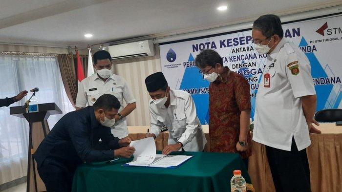 Perumdam Tirta Kencana Samarinda MoU dengan PT STM Tunggal Jaya, Rencana Bangun SPAM
