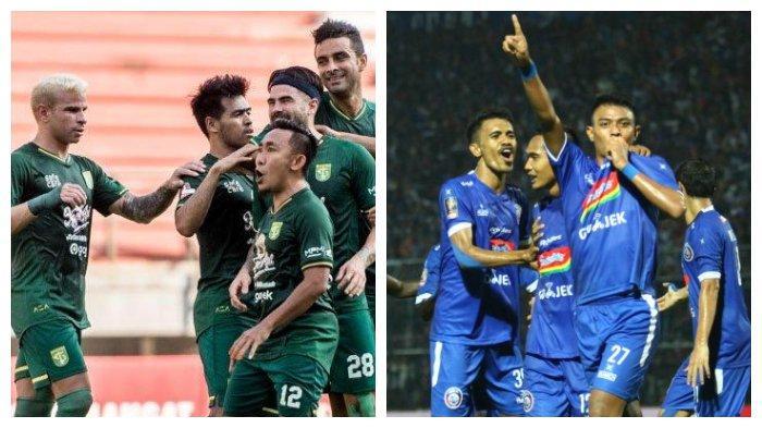 Link Live Streaming Persebaya vs Arema FC Derby Jatim Tanpa Bonek dan Aremania di Indosiar
