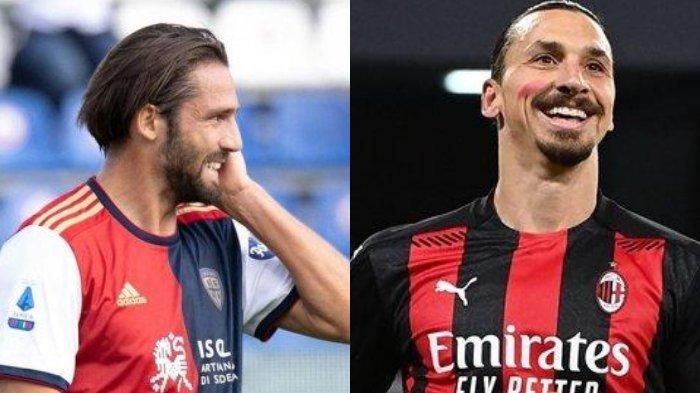 Update Liga Italia, Bukan Nama Tenar, Maldini Incar Striker Tua Minim Gol Cagliari untuk AC Milan