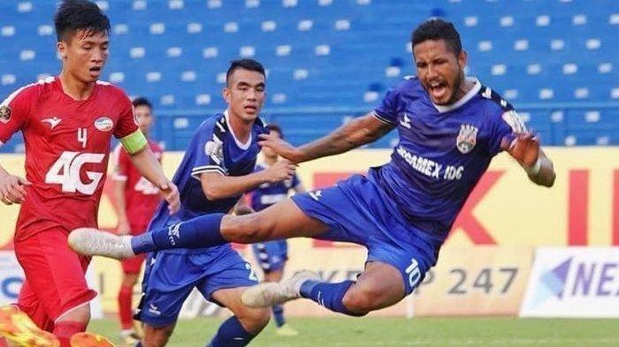 Striker Persib Bandung Lagi On Fire, Wander Luiz Latih Performa dari Awal Lagi Karena Liga 1 Ditunda