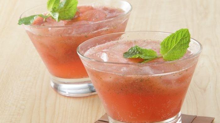 Resep Strawberry Squash Mint, Praktis dan Bakal Bikin Mata Merem Melek Begitu Mencicipnya