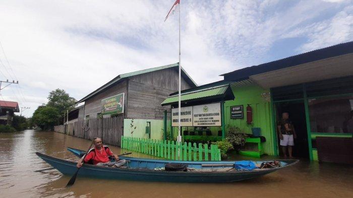 13 Kampung di Kutai Barat Masih Terendam Banjir, Ini yang Dilakukan BPBD