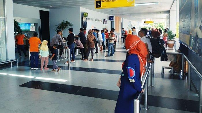 Libur Akhir Tahun, Jumlah Penumpang Bandara Kalimarau Berau Meningkat 5 Persen