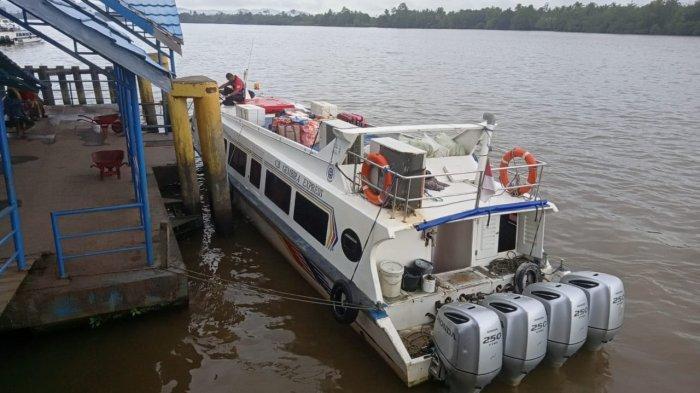 Pasca Speedboat Reguler Mogok Beroperasi, Aktivitas di Dermaga Kayan II Kembali Normal