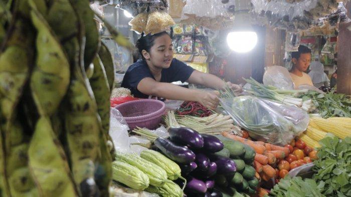 Harga Bawang Putih Masih Tinggi di Kota Balikpapan, Omset Pedagang Pasar Turun