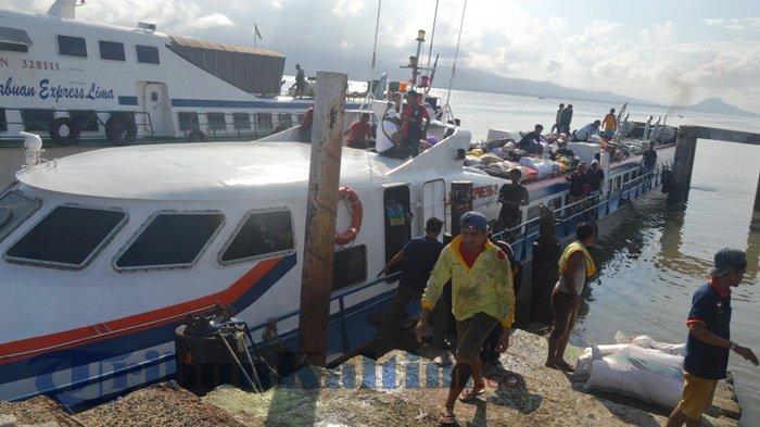 Baru Saja Tiba di Pelabuhan Tunon Taka, Rabasia tak Berkutik Diciduk Aparat