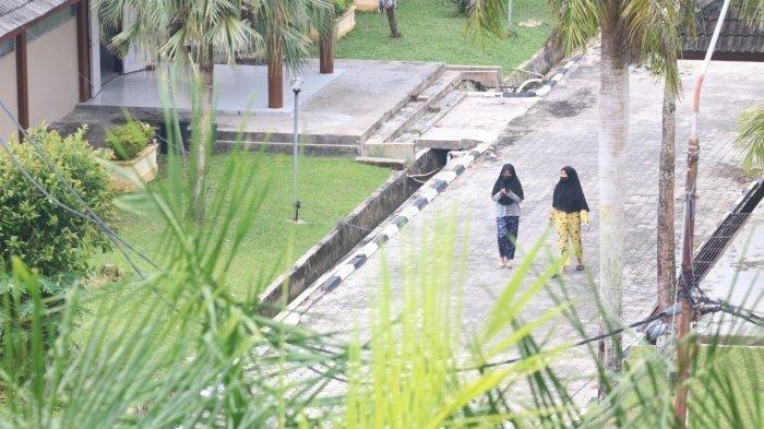 Ilustrasi Embarkasi Haji Batakan Balikpapan yang selama masa pandemi Covid-19 digunakan sebagai tempat isolasi mandiri,TRIBUNKALTIM.CO, DWI ARDIANTO
