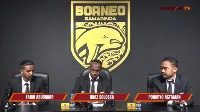 Tak Lagi Bareng Persipura, Kini Boaz Solossa Resmi Bergabung ke Borneo FC